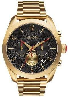 0d26a9b5f Nixon The Bullet Chrono Watch - Women's All Gold/Black One Size ...