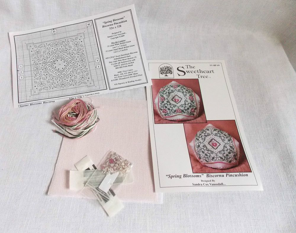 What A Stitch! 10/% Off Sweetheart Tree Counted X-stitch Kit