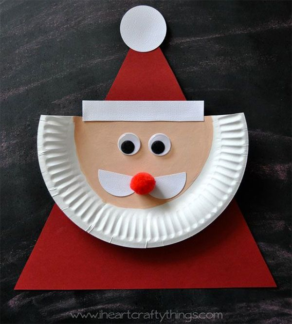 Lavoretti Di Carta Natale Bambini.13 Lavoretti Su Babbo Natale Per Bambini Natale Bambini