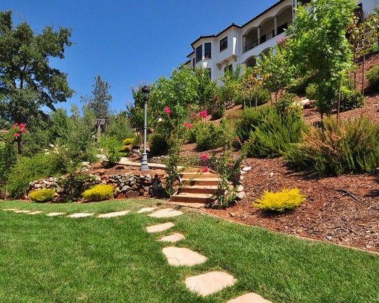 Hillside Landscape Design Ideas Pictures Remodel And Decor Hillside Landscaping Landscape Design Backyard Landscaping