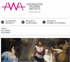 Artiste femminili/Women artists + Wikipedia a Firenze