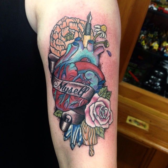 My First Flash Piece From No Glory Tattoo In Wellington Nz Done By