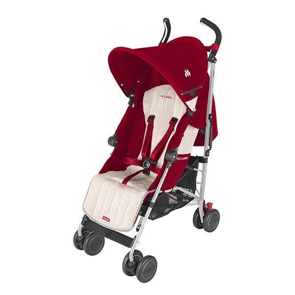 Maclaren silla quest rojo beige sillas de paseo maclaren transporte mothercare coches - Sillas de paseo maclaren quest ...