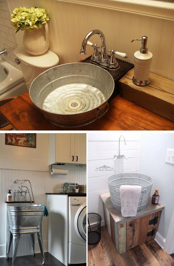 15+ Proyectos Reciclados para Personalizar su Pequeño Baño ...