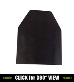 Steel Defender Ballistic Body Armor Plates Are 1 4 Thick 500 Brinell Hardness Armor Plate Steel 10 Wide X 12 Tall Body Armor Plates Armor Plate Body Armor