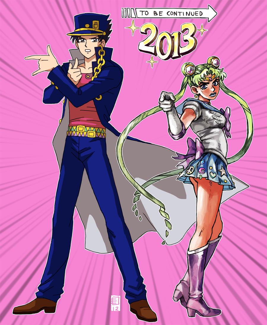 Hottness In The Horizon Sailor Moon Jojo Sailor