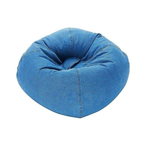 Bean Bag Chair: Ace Bayou Denim Bean Bag Chair   Blue (£31)