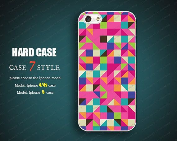 Colors iphone 5 case Iphone 4 covers 4 case Iphone 5 by case7style, $6.98