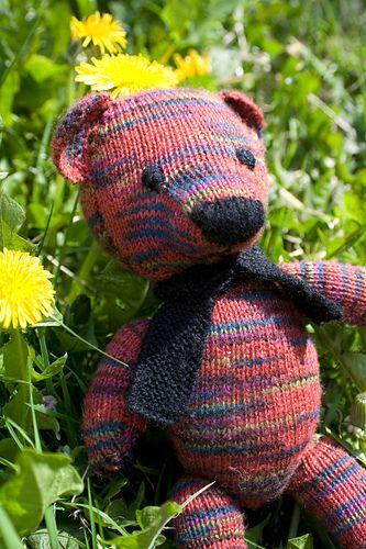 Ravelry: Knitted Teddy Bear pattern by Weldons | Teddy ...