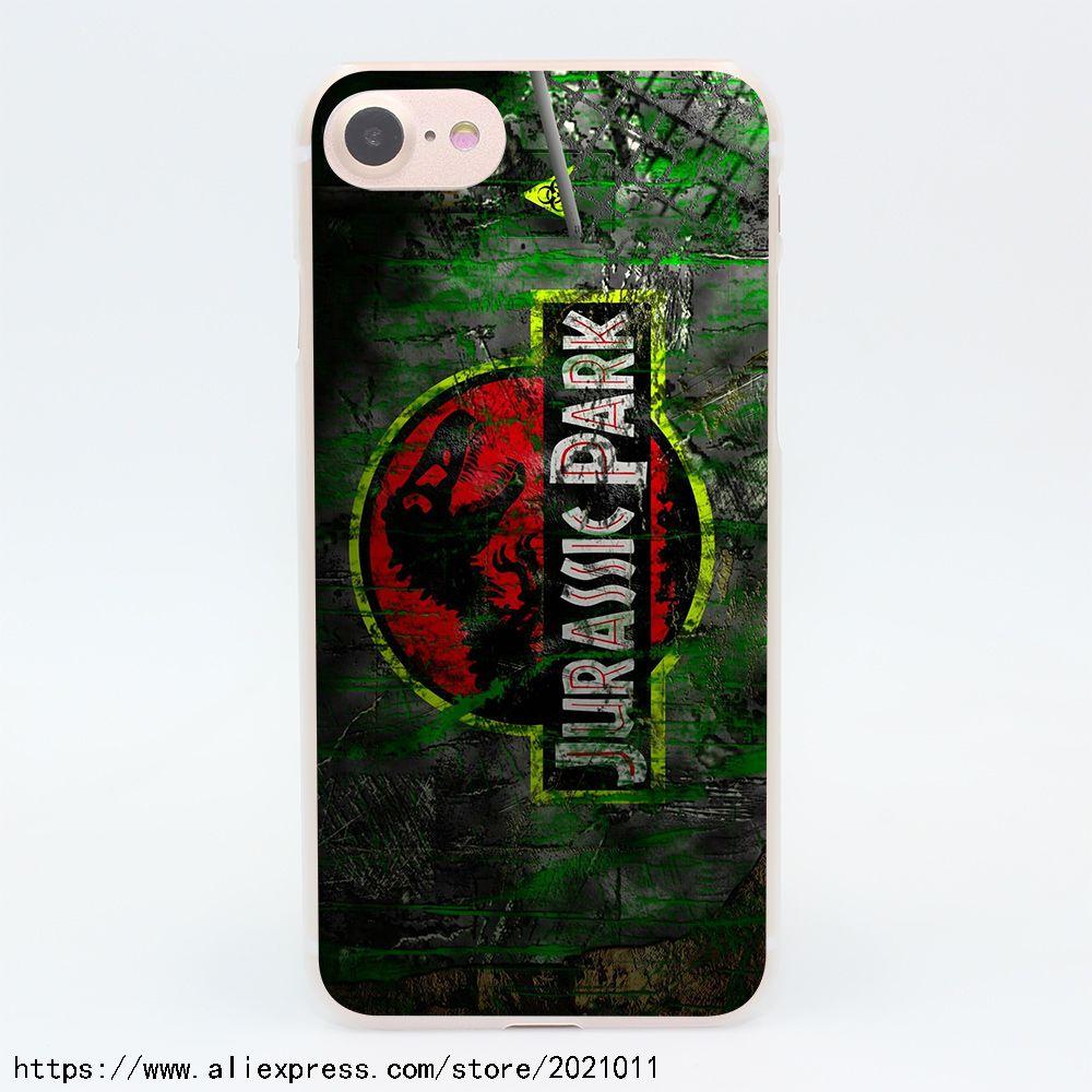 jurassic park iphone 7 case