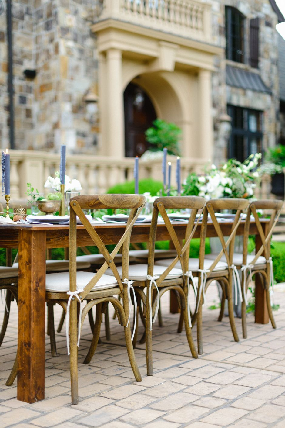 Table And Chair Hire Patio Bar Chairs Tables Crossback Vineyard Rental In Atlanta Athens Lake Oconee Georgia Wedding Rentals