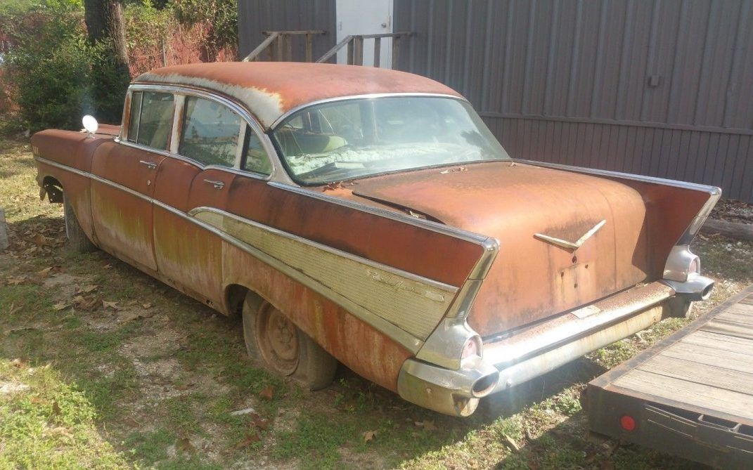 Stalled Project 1957 Chevrolet Bel Air Chevrolet Bel Air 1957 Chevrolet Chevrolet