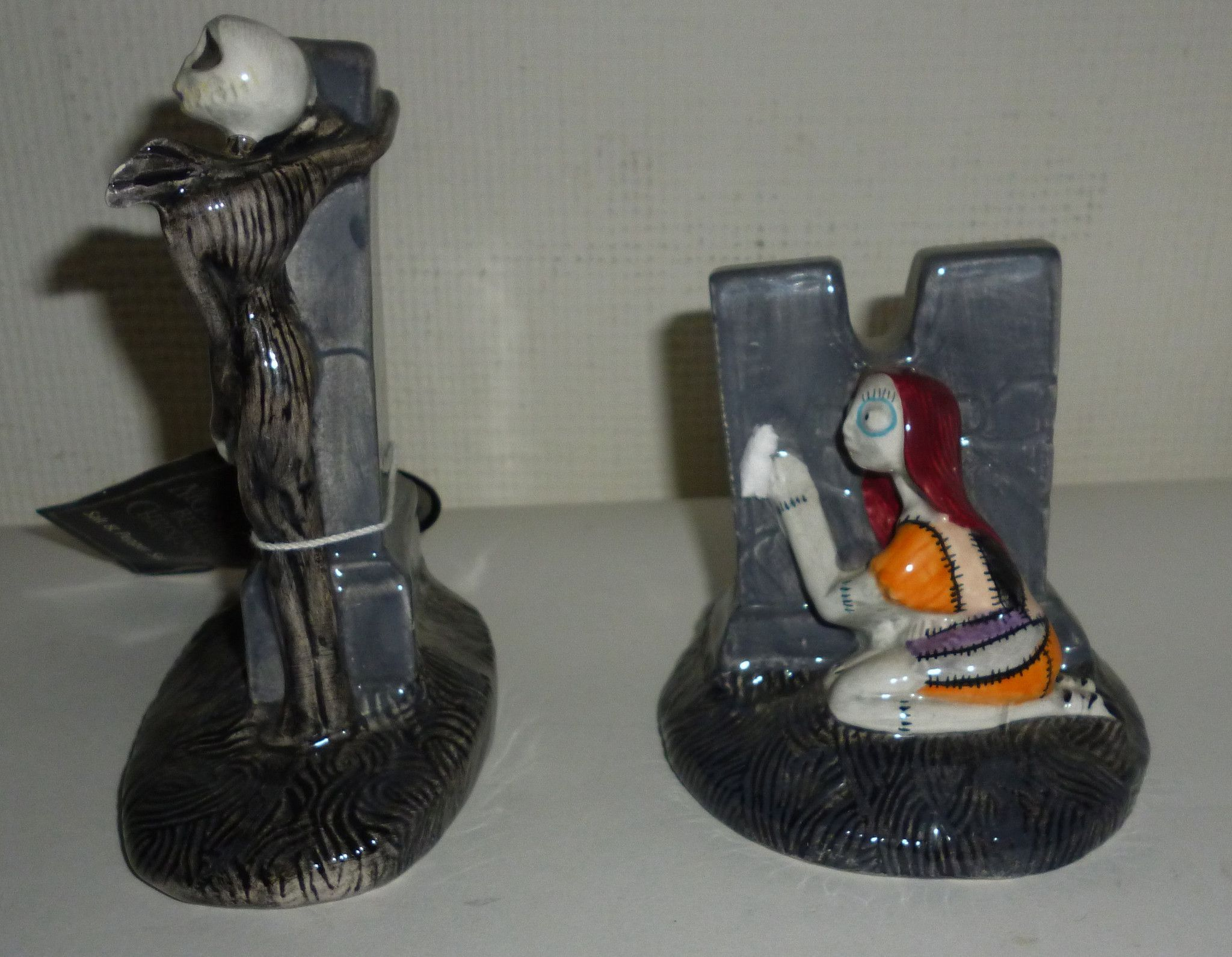 Nightmare Before Christmas Jack and Sally Salt & Pepper Shakers ...