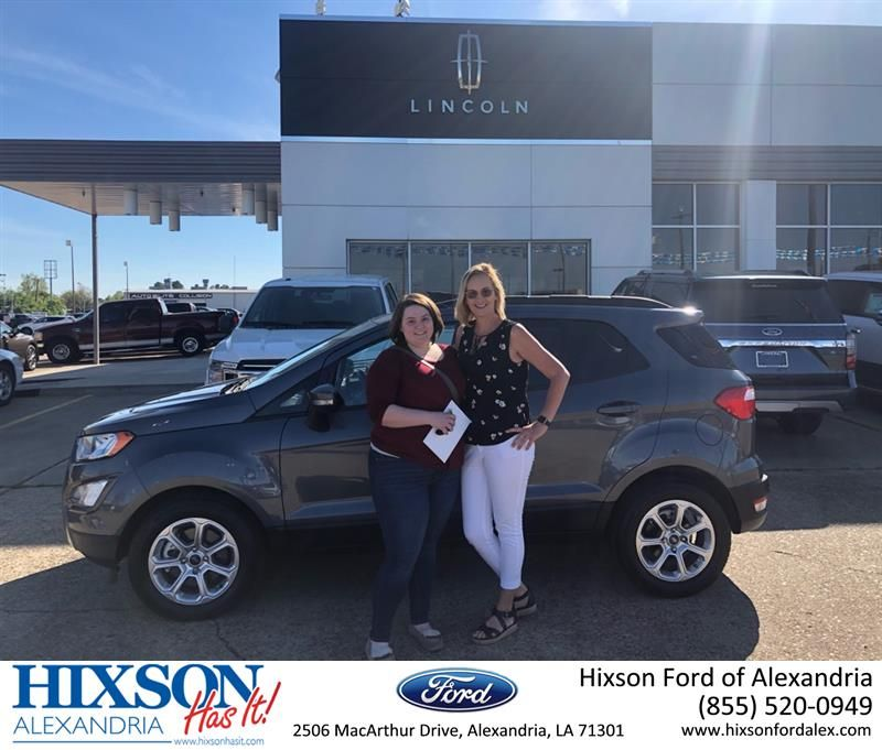 Congratulations Cady On Your Ford Ecosport From Tonia Bandy At