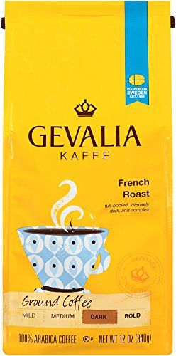 photograph relating to Gevalia Printable Coupons referred to as GEVALIA French Roast, Darkish, Flooring Espresso, 12 Ounce espresso