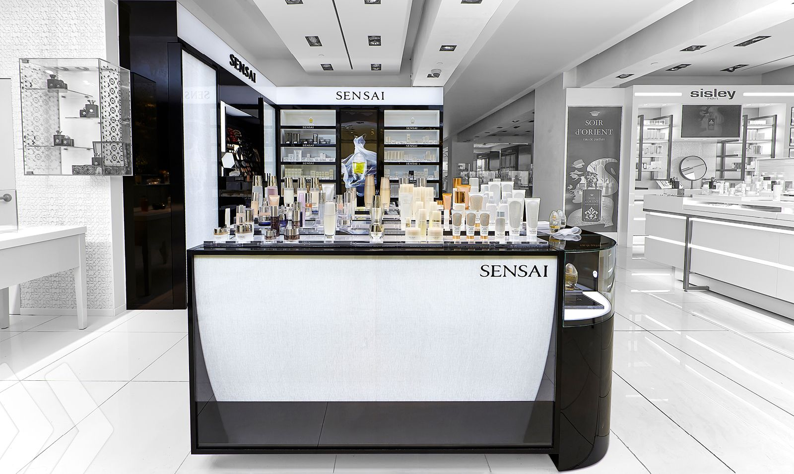 Kanebo Sensai Shop In Shop Made By Arno