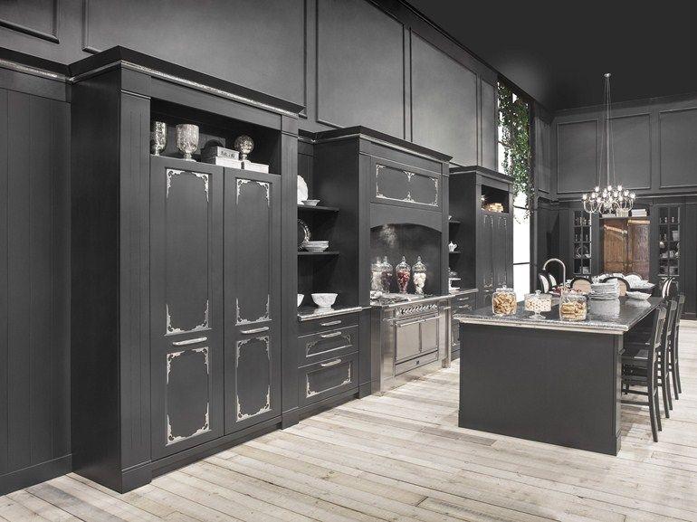 Küche mit Kücheninsel ENGLISH MOOD LUXURY by Minacciolo