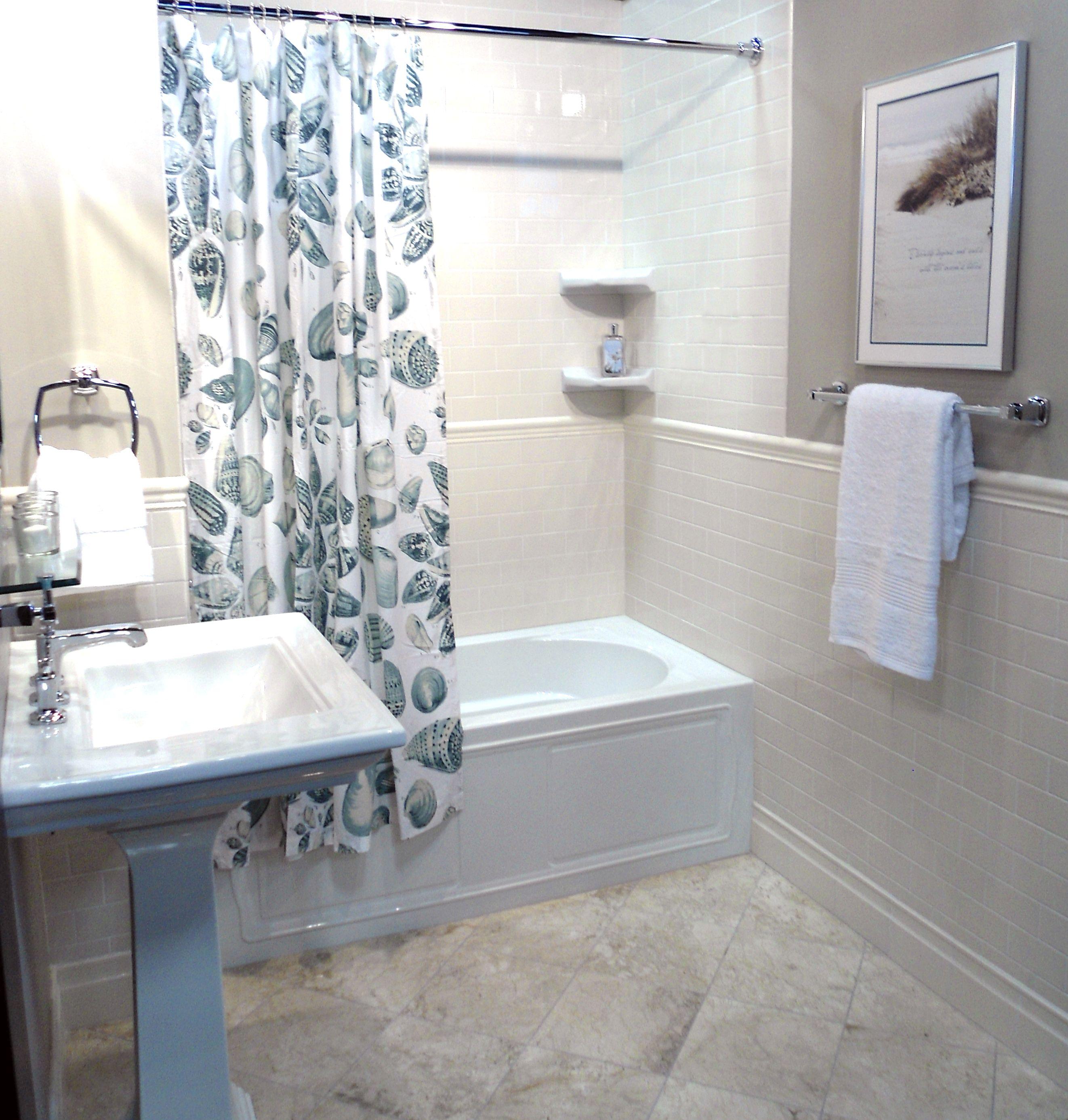 Ceramic Bathroom On A Budget.