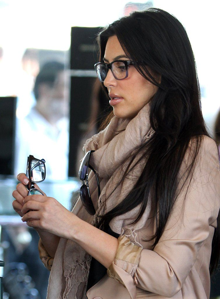 7a213de59a Kim Kadarshian - Pictures of Female Celebrities Wearing Glasses