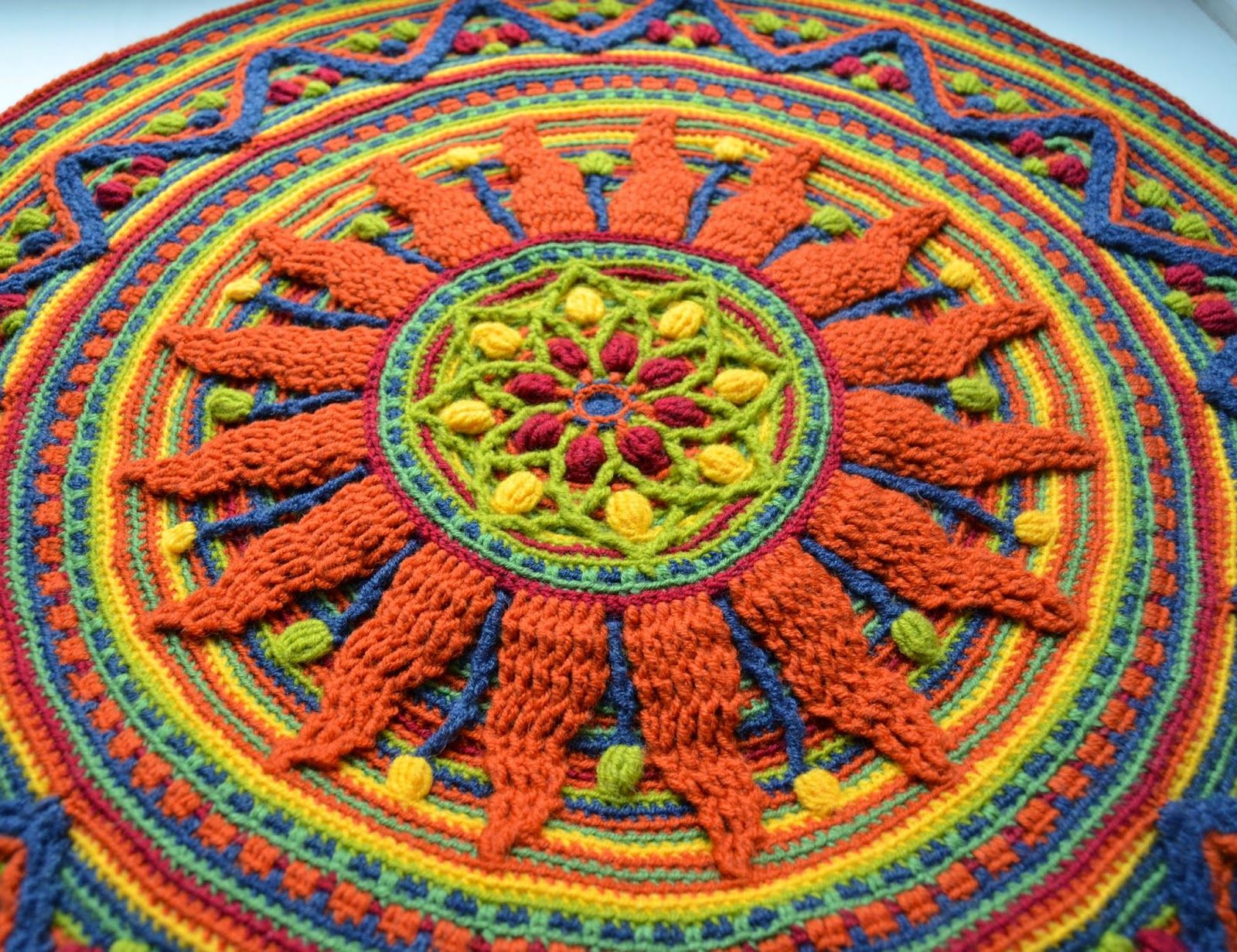 Sunny Rug For Meditation