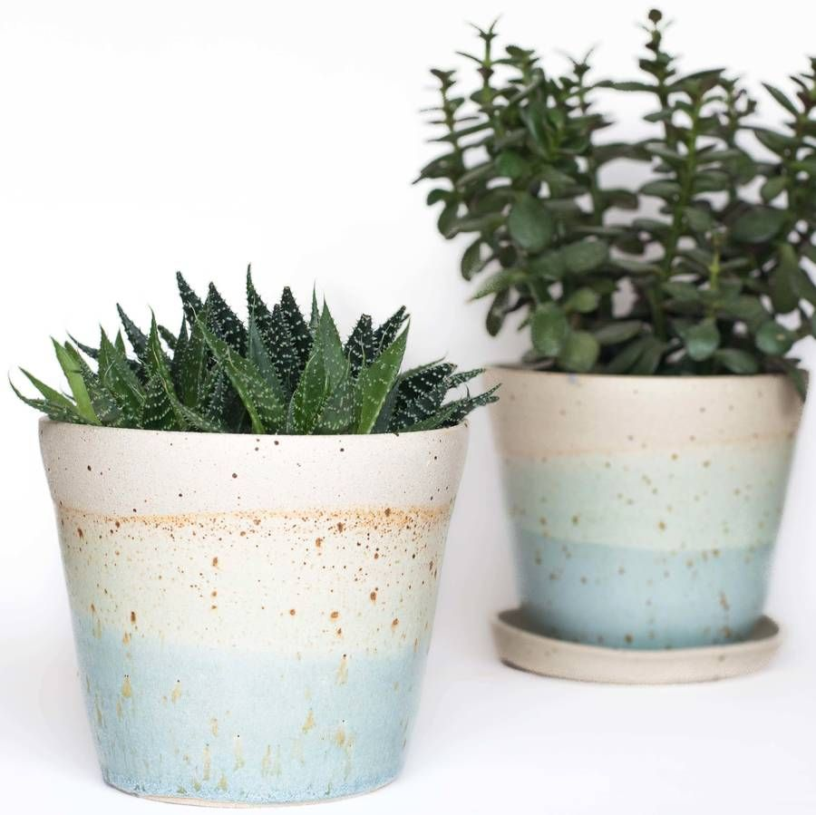 Are you interested in our Speckled indoor planter? With our ceramic ...