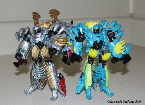 Transformers Age of Extinction SLASH Complete Deluxe Dinobot Aoe