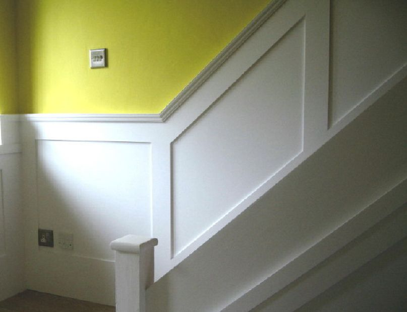 Shaker Panelling For Stairs