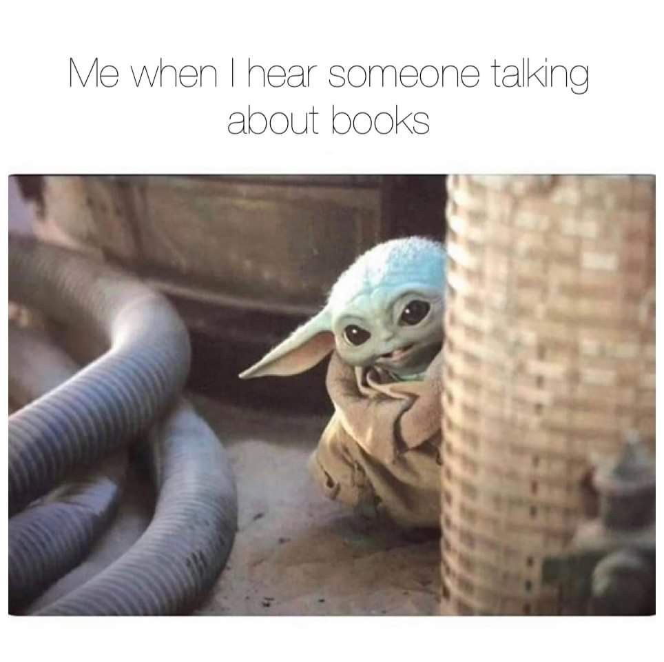 Pin By Laura Sofia On Books Libraries Yoda Meme Book Memes Serial Killers