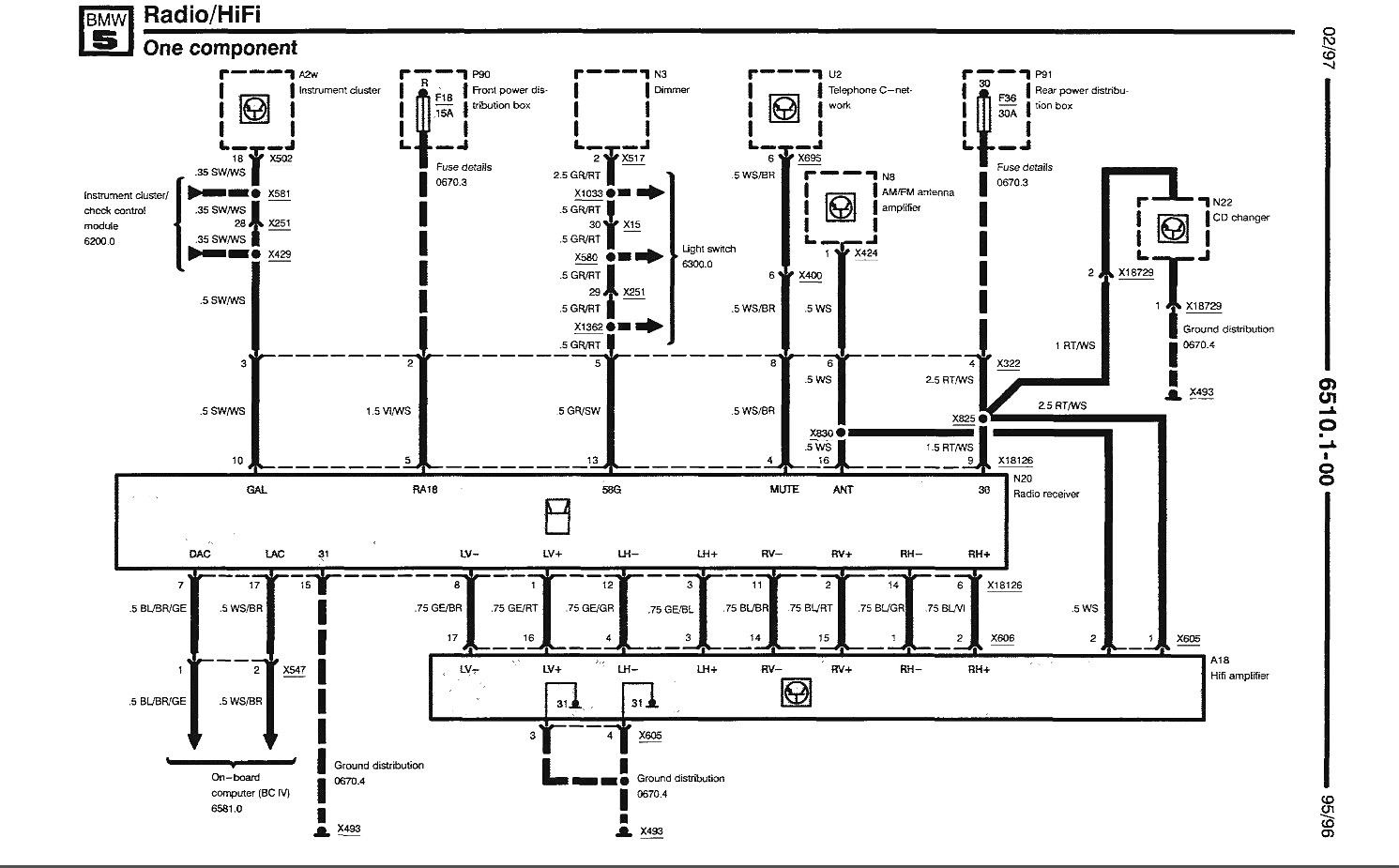 E39 Wiring Diagram For Dsp Amp Free Download Wiring