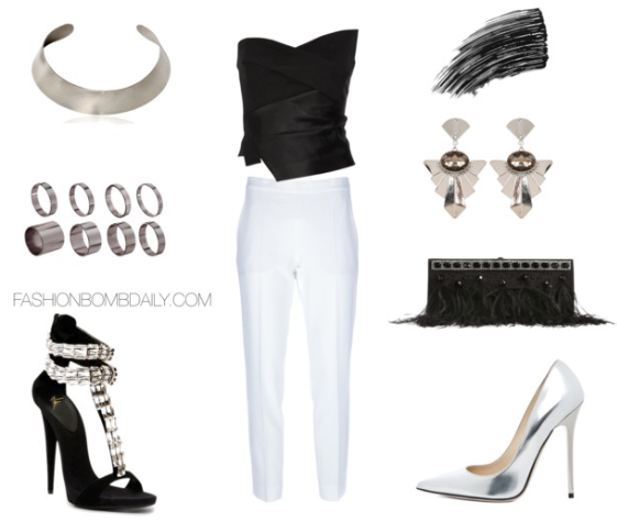 What to Wear to a Black and White Party