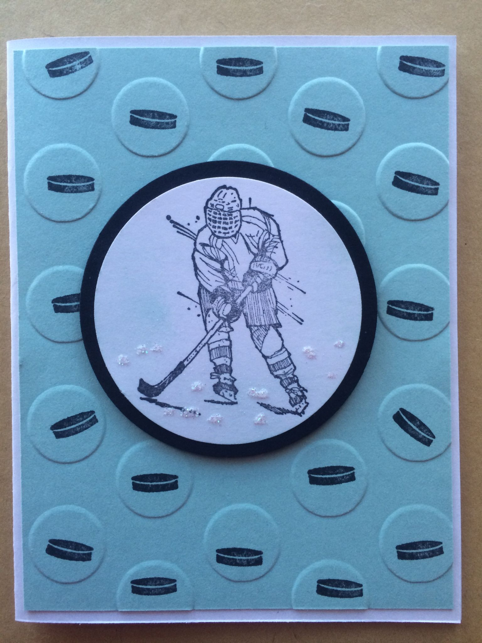 Stampin' Up on the Ice & On Ice by Pat McG.