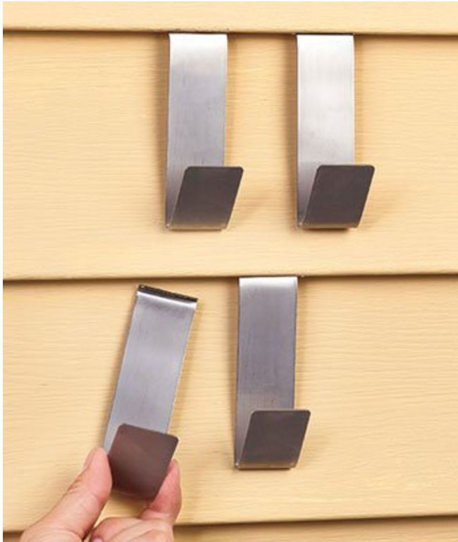 How To Hang Decor On Siding How To Hang Nice And Vinyls