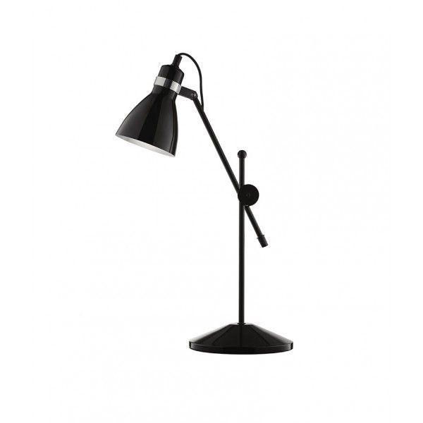 Luminária de Mesa Articulada Preta $270