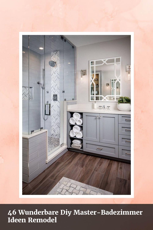 Cute 9 Wunderbare Diy Master-Badezimmer Ideen Remodel - #9