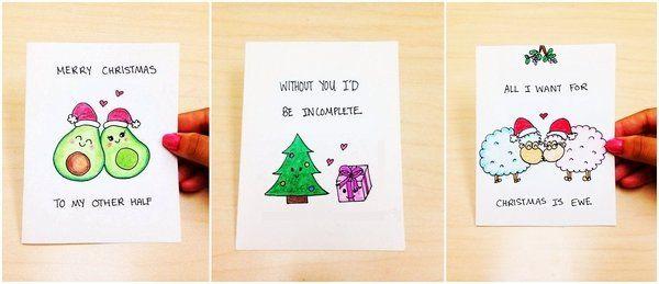 diy christmas gifts for boyfriend handmade christmas cards cute christmas cards - Diy Christmas Gift For Boyfriend