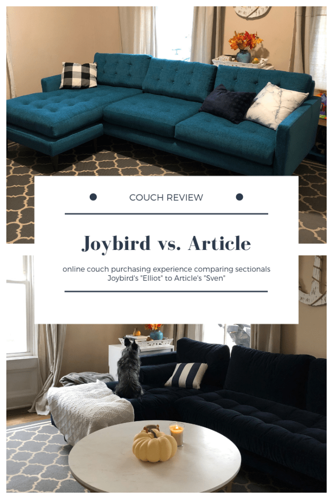 Joybird Vs Article Couch Review Joybird Furniture Living Rooms
