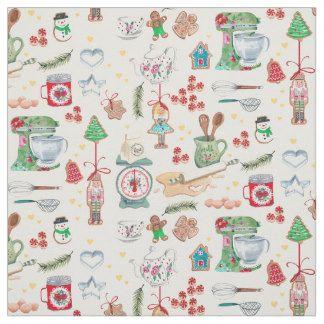 Christmas pattern Festive Fabric Blend bauble mtre 100/% cotton quilting designer