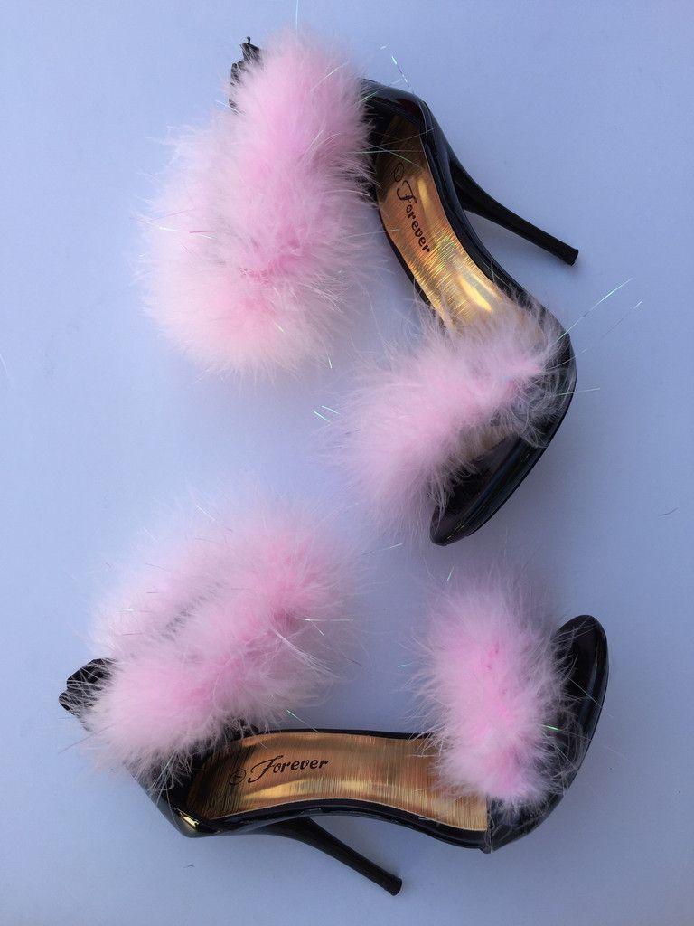 Fluffy Kitten Heels Heels Shoes Stunning Shoes
