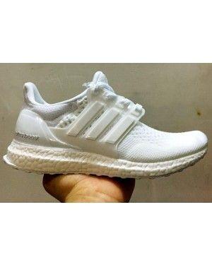 Unisex Adidas Ultra Boost Triple White 2