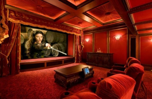 Theater Room Design 35 modern media room designs that will blow you away | home