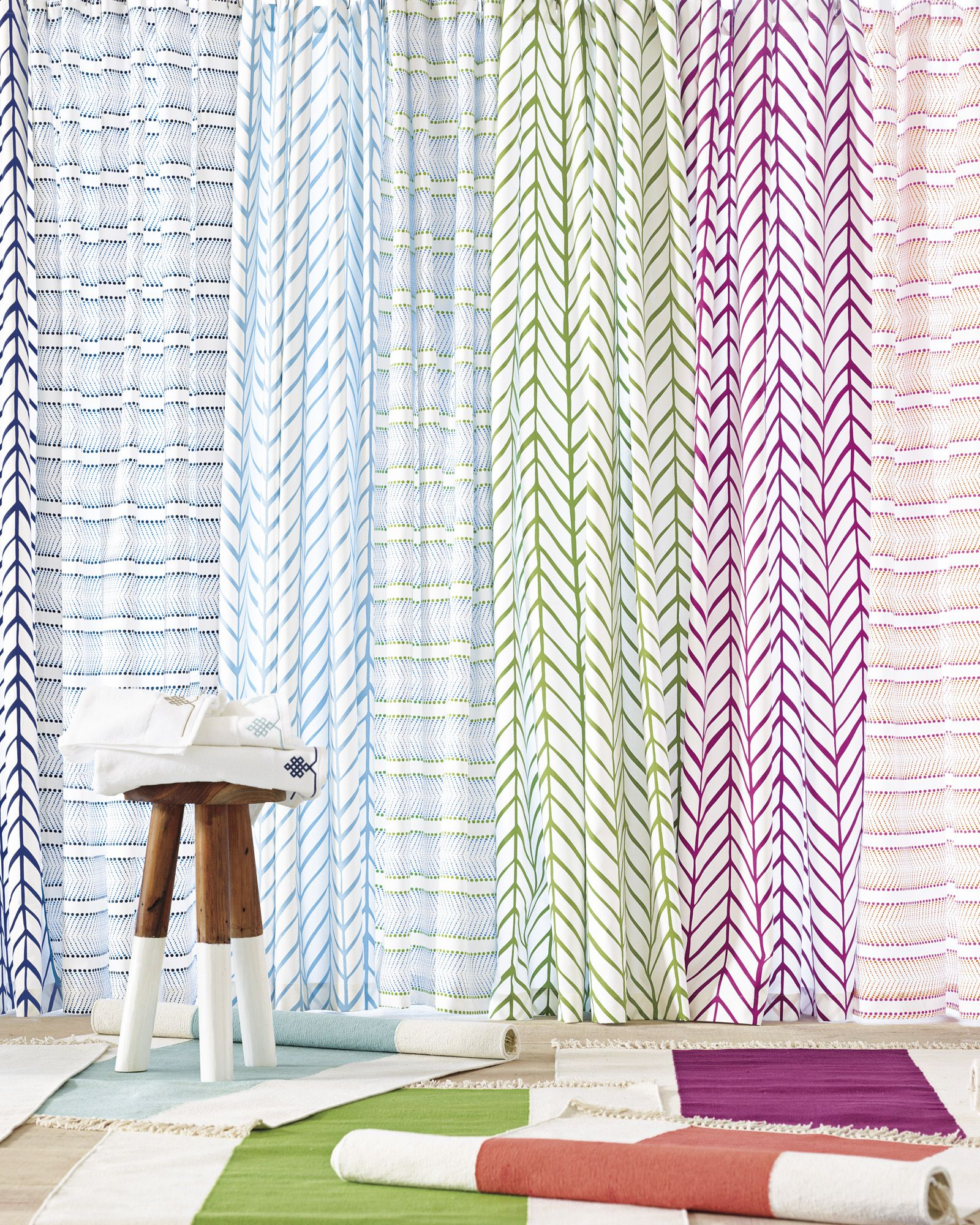 Feather Shower Curtain Curtains Serena And Lily
