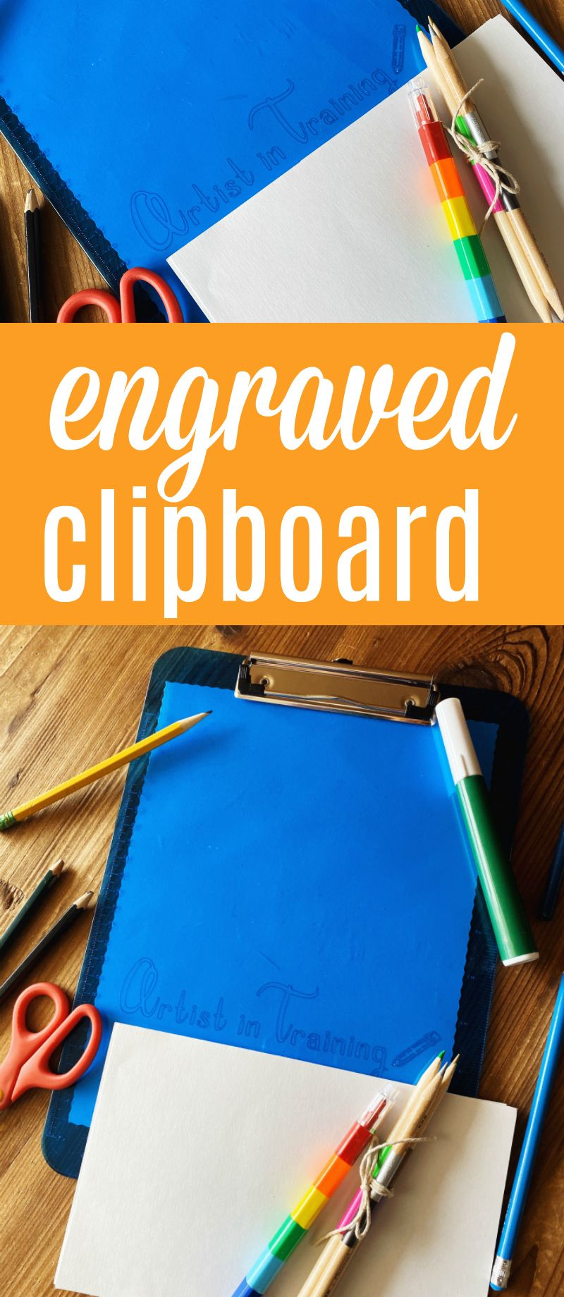 Learn How To Make Personalized Precision Engraved Clipboards With Cricut Maker S Newest Line Cricut Projects Beginner Personalized Clipboards Cricut Projects