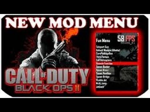 How To Install a Black Ops 2 Online Mod Menu {PS3} { GSC} {1 19