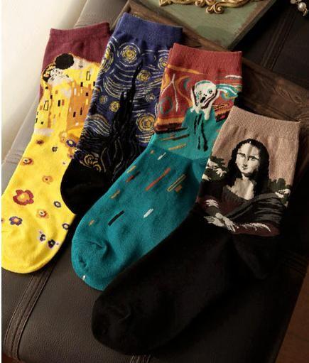Free size Design: Mona Lisa/ScreamStarry Night