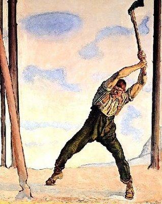 Había una vez, en un país, no muy lejano…    …dos leñadores que decidieron participar en un concurso de tala de árboles. Llegado el momento, ambos leñadores empezaron a talar al mismo ritmo. Pero al cabo de una hora...
