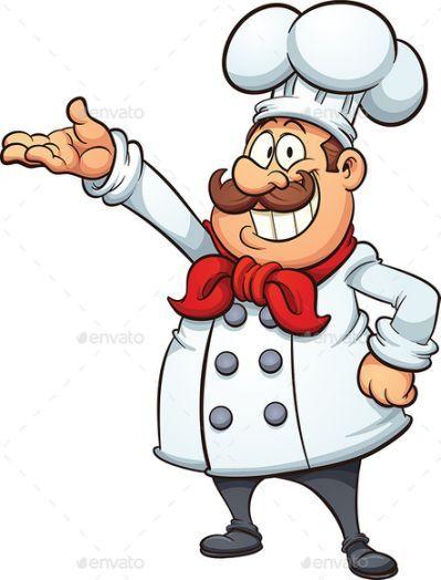 cartoon chef by memoangeles cocinero in 2018 pinterest rh pinterest com Black Cartoon Chef Characters Number 9 Clip Art