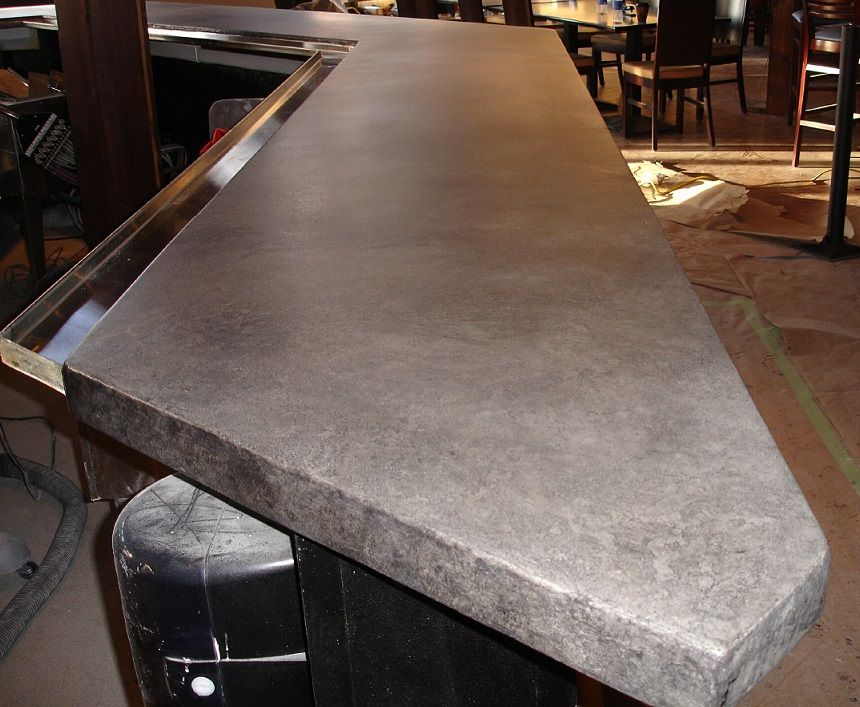 Unique Stainless Steel Bar tops