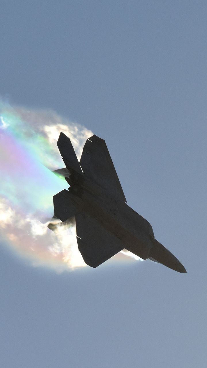Download This Wallpaper 720x1280 Military Lockheed Martin F 22
