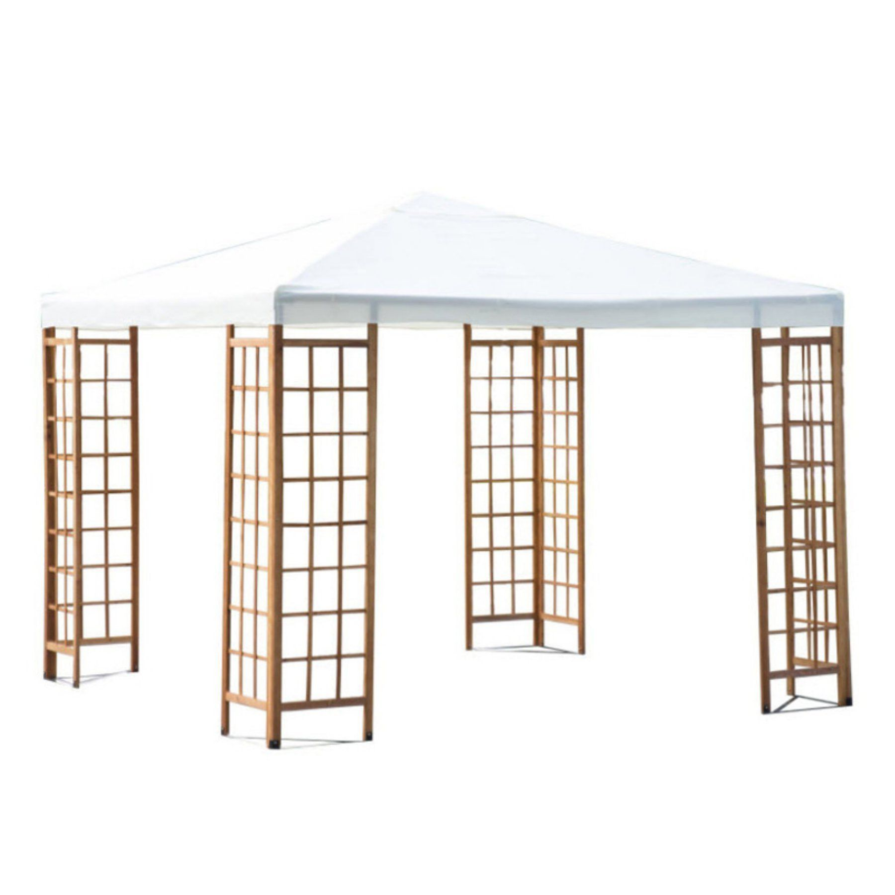Outsunny 10 x 10 ft. Patio Canopy Pavilion Gazebo - 840-021CW