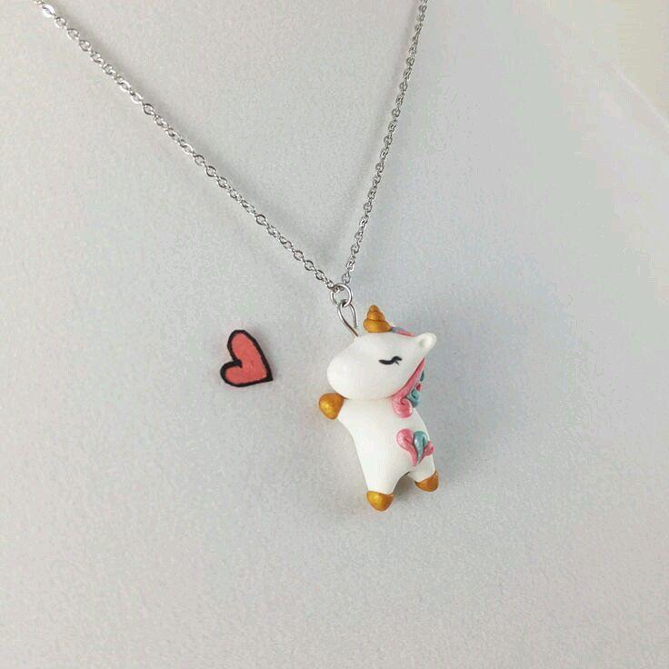 Unicorn Necklace Charm Unicorn Central In 2018 Pinterest
